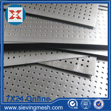 Round Hole Perforated Sheet Screen
