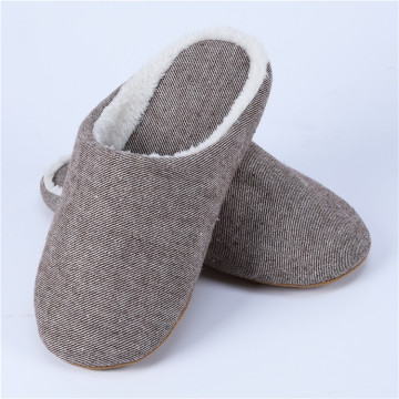 Furry Mens Bathroom Slippers