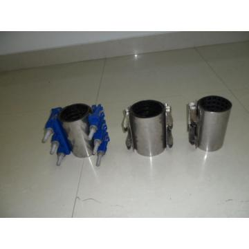 Stainless steel double bands repair clamp