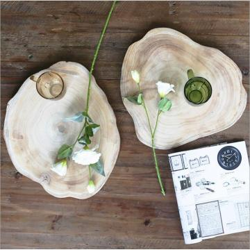 Afternoon Tea paulownia 100% solid Wood Tray
