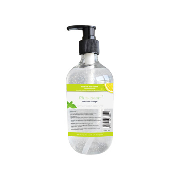 500Ml Hand Sanitizer Disinfectant Lemon Hand Wash Liquid
