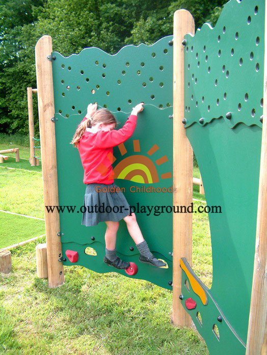 panel climber walls playground structure