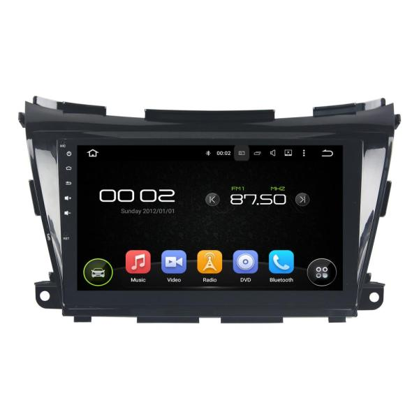 10.1 Inch Touch Screen Nissan Morano Car Player