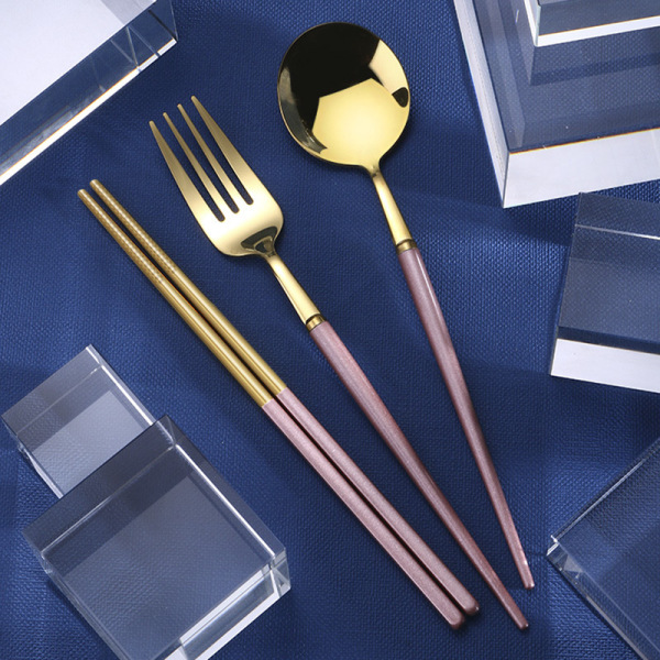 Portable Flatware Stainless Steel Travel Cutlery Set