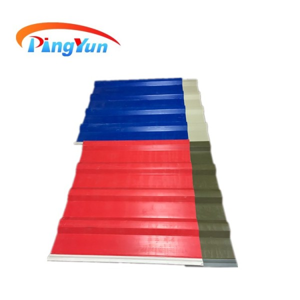 colorful plastic wall PVC corrugated hollow sheet
