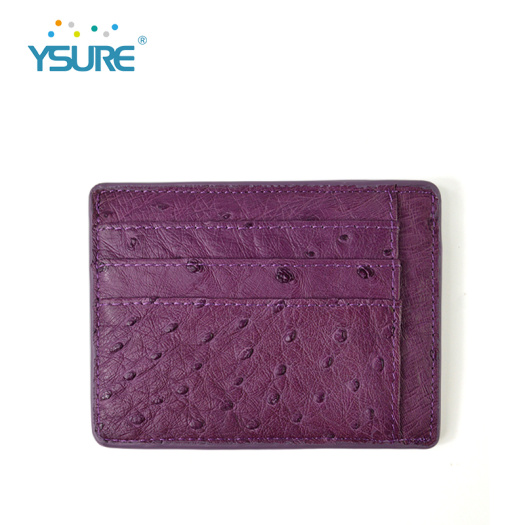 Custom Color Real Leather Visa Card Holder