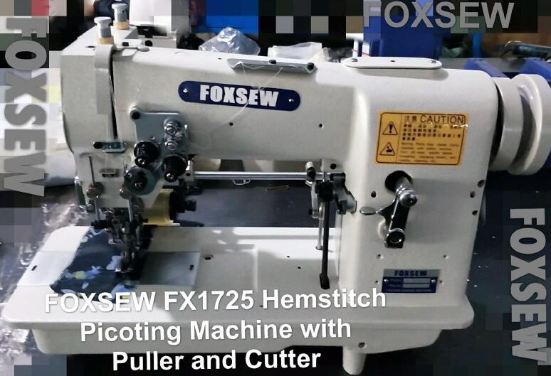 Hemstitch Picoting Machine 5