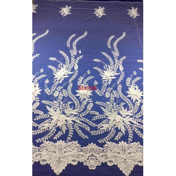 White Luxury Fabric for Dress