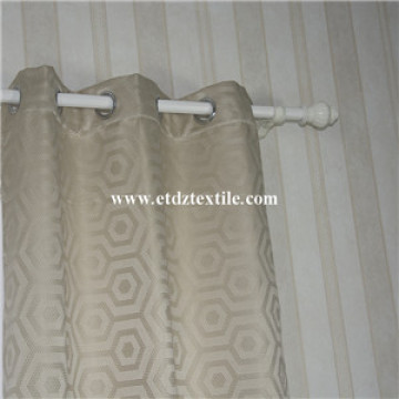 Shrinkage Yarn Jacquard Curtain Fabric In Well Drapes