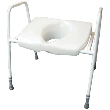 Steel Toilet Frame And Seat