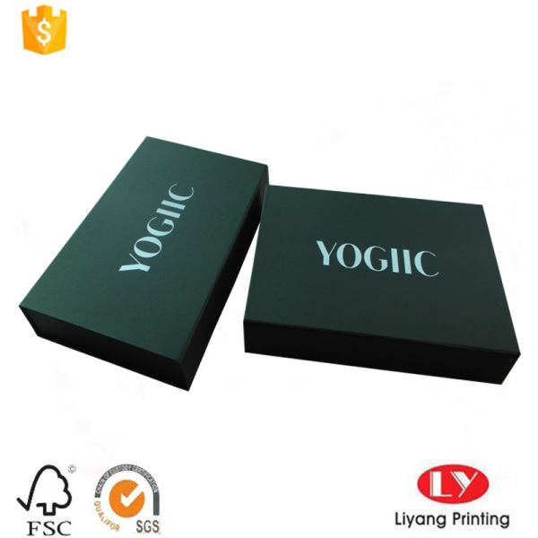 Luxury cardboard shoes packaging gift box