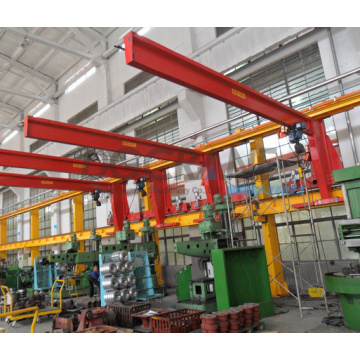Wall traveling/mounted slewing jib crane for sale