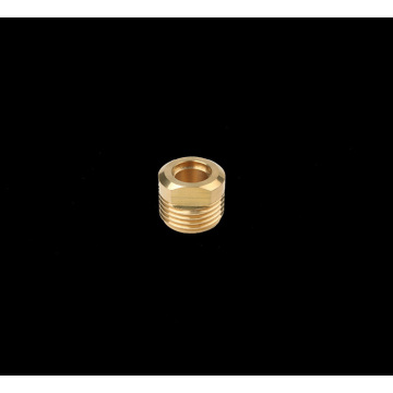 CNC Brass Outlet Connector