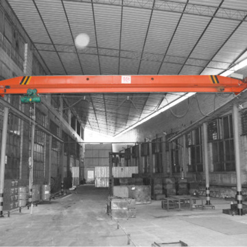 single girder 2ton workshop use EOT crane design