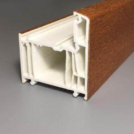 Lead-free 70mm Casement UPVC Profile