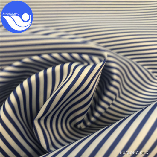 taffeta print fabric used for bags lining