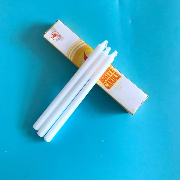 cotton wick and high quality stick candles