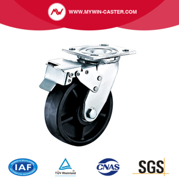Plate Braked High Temperature Caster
