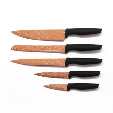 Cooking Cutting Knives sets with PP handle