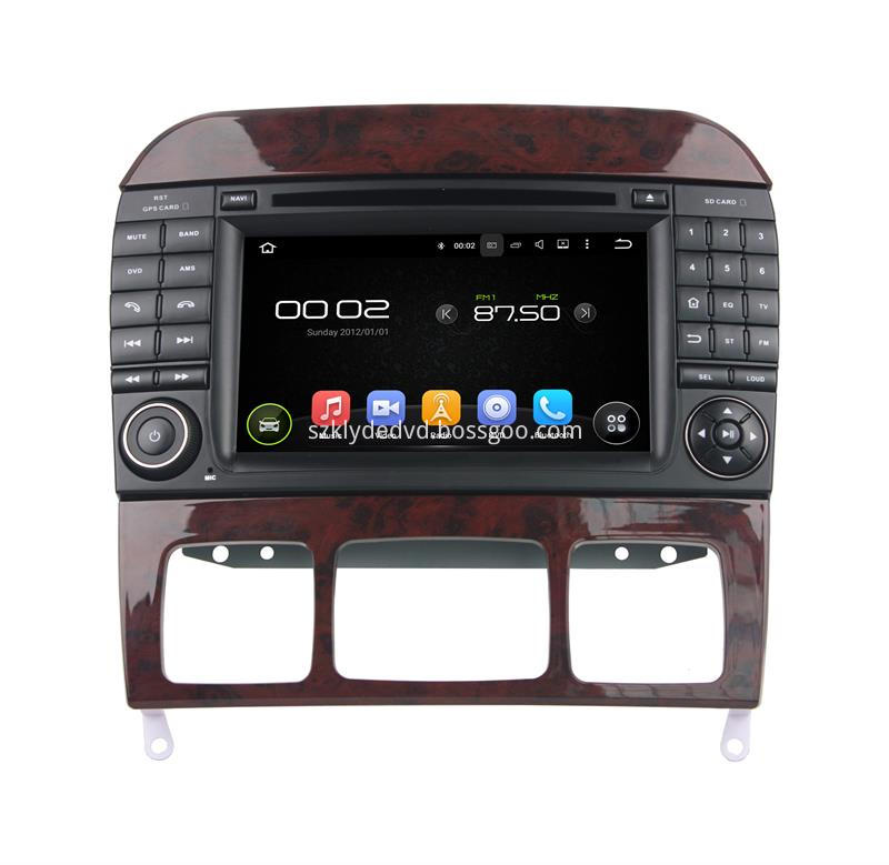 Benz S android 7.1 car gps (1)