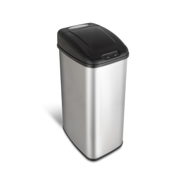 50L RoHS Stainless Steel Sensor Garbage Can