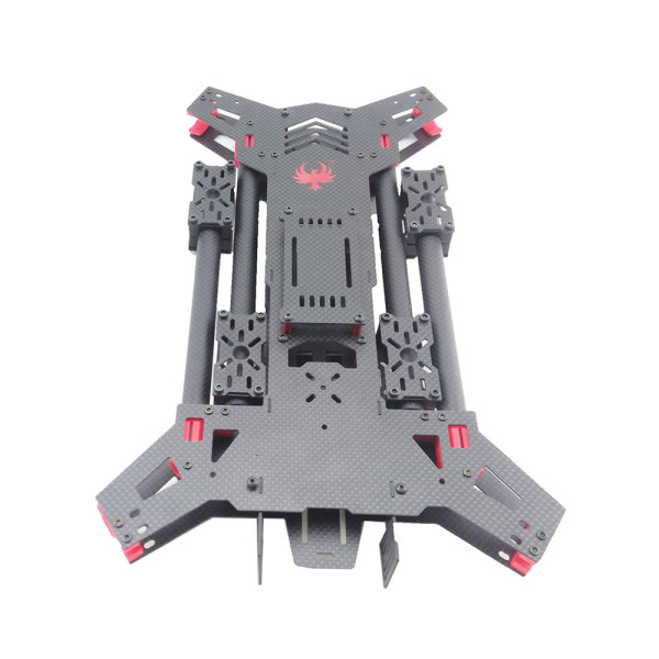 680mm H type folding carbon fiber drone frame