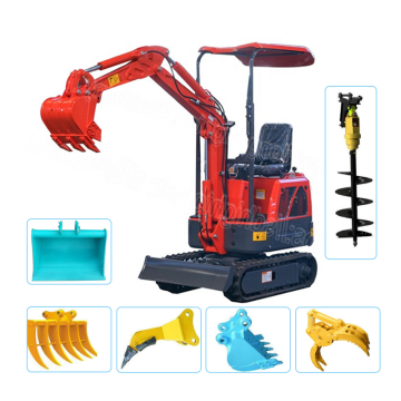 CE/ISO orchard 1/0.8 ton mini excavator/digger in malaysia
