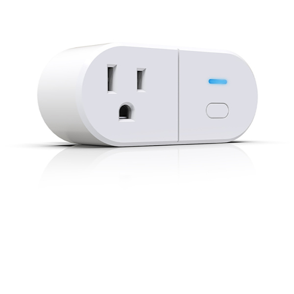 Single control dual output WIFI smart outlet