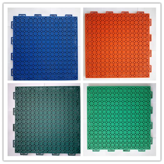 Mudolar interlocking court tiles for child