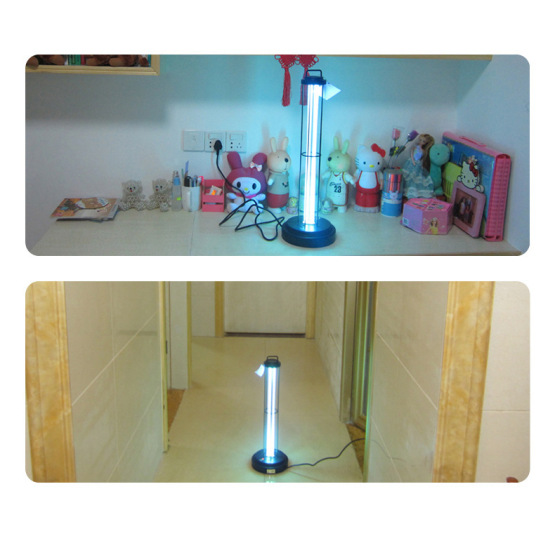 UV germicidal lamp with remote control free ozone