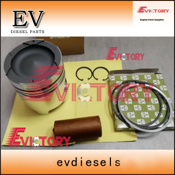 KOMATSU engine parts piston S6D102E piston ring