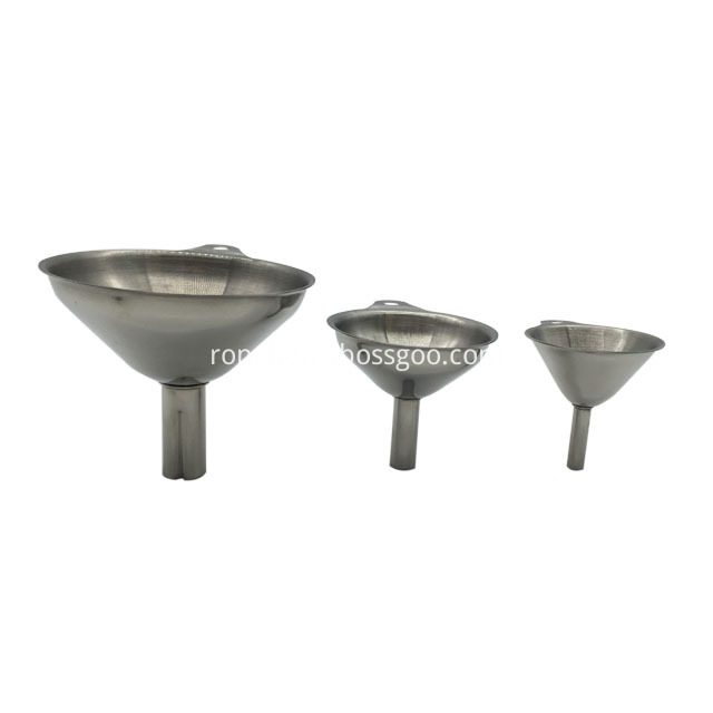 3 Pcs Stainless Steel Funnel Set2