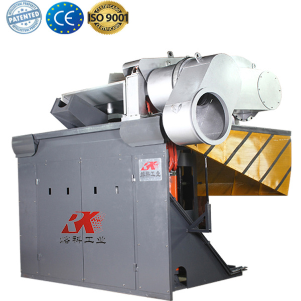 Industrial scrap induction copper melting furnace price