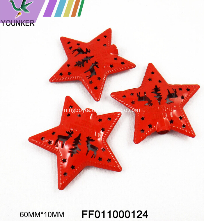Custom Star Metal Ornament02