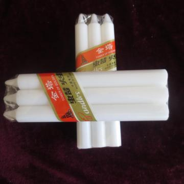 Paraffin Wax Big Pillar White Candle