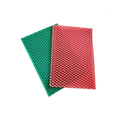Good PVC S plastic mat for home use