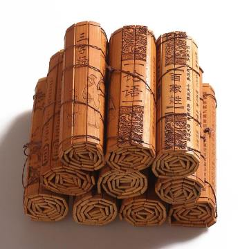 Bamboo Slips in Ancient Poetry