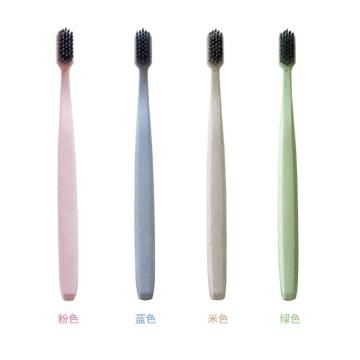 2019 Eco-Friendly  Wheat Straw Toothbrush Adult