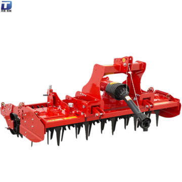 Tractor pto drive power rotary harrow with parts