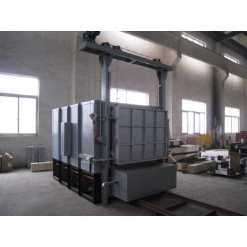 All fiber bogie hearth resistance annealing furnace