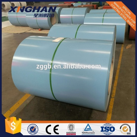 PPGI prepainted galvanized steel coil EN JIS GB standard for metal roofing sheets