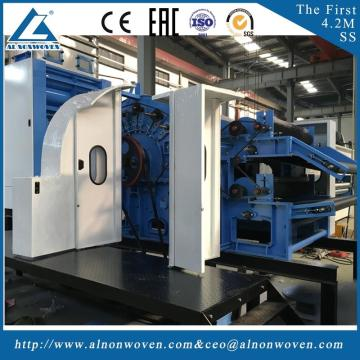CE Certification ALSL-3000 textile carding machine wool carding machine machinery