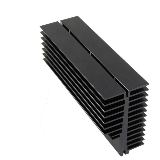 Customized extrusion aluminum heat sink.