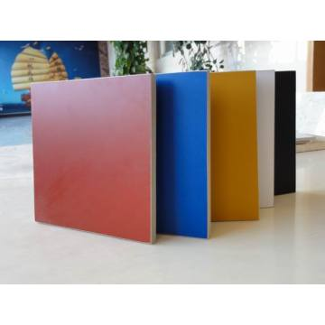 Waterproof and moisture proof wall panelling flat board