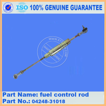 Komatsu spare parts PC200-7 fuel control rod 04248-31018