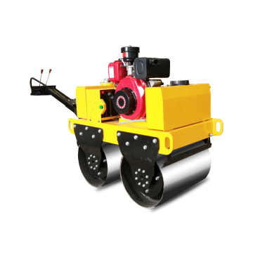 Good quality small double drum road roller