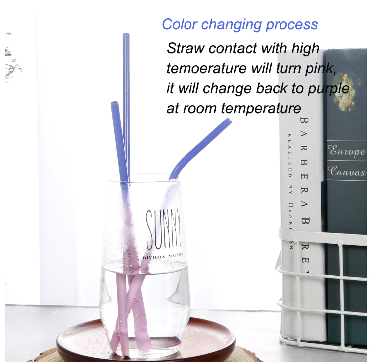 Color Change Drinking Straw