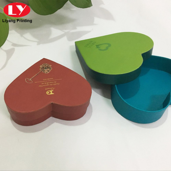 Heart Shape Cardboard Gift Box Packaging