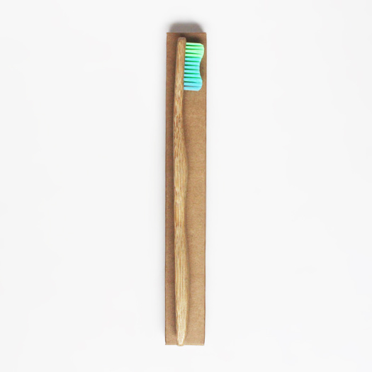 Charcoal Bristle Bamboo Toothbrush With 4 Pack