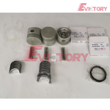 MITSUBISHI engine K3C bearing crankshaft con rod conrod